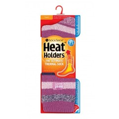 Heat Holders Ladies fashion twist 4-8 appleby pink strips twist (1 paar)