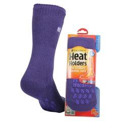 Heat Holders Ladies slipper socks 4-8 lavender (1 paar)