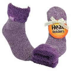 Heat Holders Ladies lounge socks 4-8 37-42 lila mauve/cream (1 paar)