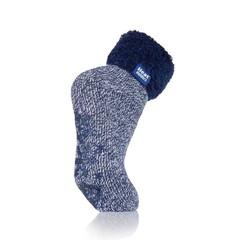 Heat Holders Ladies lounge socks 4-8 37-42 deepest plum/cream (1 paar)