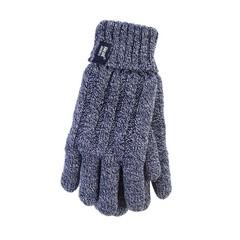 Heat Holders Ladies cable gloves S/M navy (1 paar)