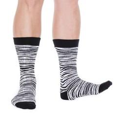 Organic Socks Bjork zebra 43-46 (1 paar)