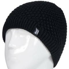 Heat Holders Ladies cable hat nora black one size (1 stuks)