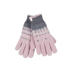 Heat Holders Ladies cable gloves M/L Trondheim coral (1 paar)