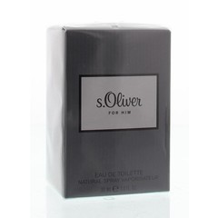 S Oliver For him eau de toilette spray (30 ml)