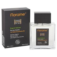 Florame Man eau de toilette esprit vetiver bio (100 ml)