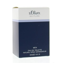 S Oliver So pure men eau de toilette (30 ml)