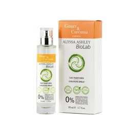 Alyssa Ashley Biolab ginger/curcuma eau parfumee (50 ml)