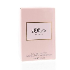 S Oliver For her eau de toilette spray (30 ml)