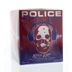 Police Miss Beat men eau de parfum (75 ml)