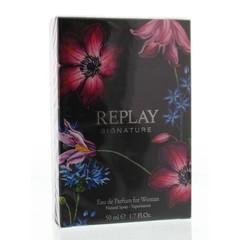 Replay Signature woman eau de parfum (50 ml)