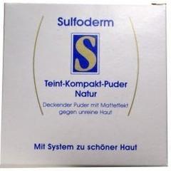 Sulfoderm S teint compact powder (10 gram)