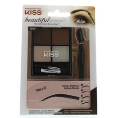 Kiss Beautiful brow kit (1 stuks)