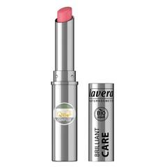 Lavera Lipstick brilliant care Q10 strawberry pink 02 (1 stuks)