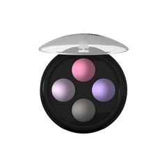 Lavera Oogschaduw/eyeshadow illumin quattro lavender 02 (4 x 0.5 gram)