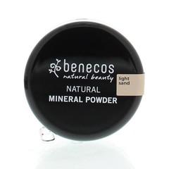 Benecos Mineral poeder light sand (10 gram)