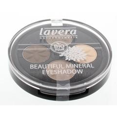 Lavera Oogschaduw/eyeshadow beau min quattro cream 02 (4 stuks)