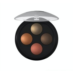 Lavera Oogschaduw/eyeshadow illumin quattro indian 03 (4 x 0.5 gram)