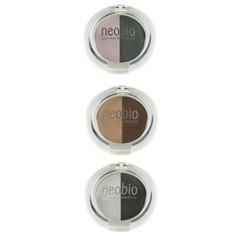 Neobio Eyeshadow duo 02 brown champagne (5 gram)