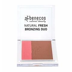 Benecos Natural fresh bronzing duo Ibiza night (8 gram)