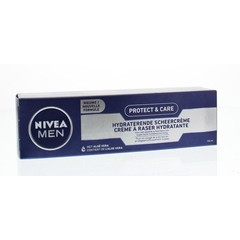Nivea Men protect & care scheercreme hydraterend (100 ml)