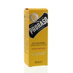 Proraso Baard olie wood & spices (30 ml)