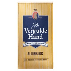 Vergulde Hand Aluinblok (75 gram)