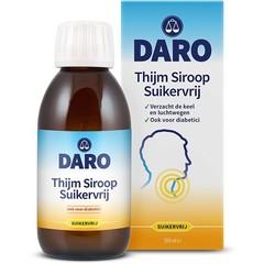 Daro Thijmsiroop suikervrij (200 ml)