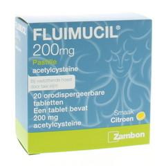 Fluimucil Fluimucil pastilles (20 pastilles)