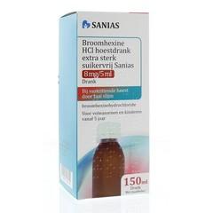 Sanias Broomhexine hoestdrank extra sterk (150 ml)