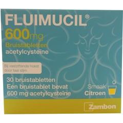 Fluimucil Fluimucil 600 mg (30 bruistabletten)