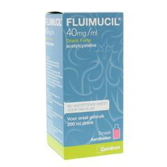 Fluimucil Fluimucil drank forte 4% (200 ml)