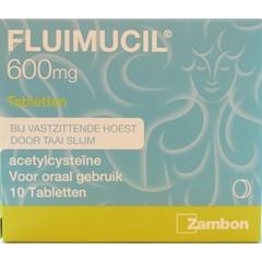 Fluimucil Fluimucil 600 mg (10 tabletten)
