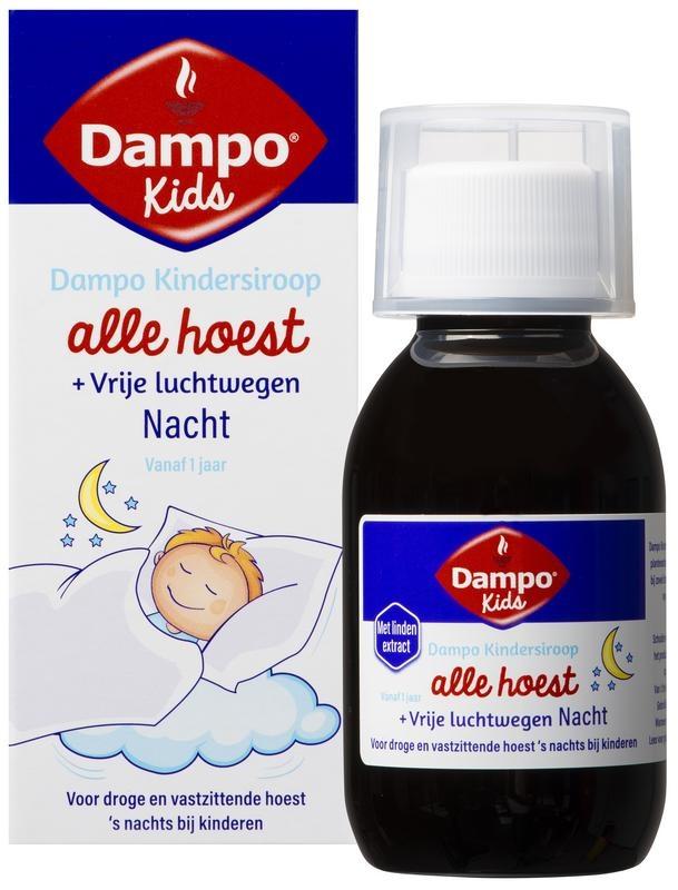 Dampo Dampo Kids alle hoest nacht (100 ml)