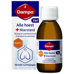Dampo Alle hoest + weerstand (150 ml)