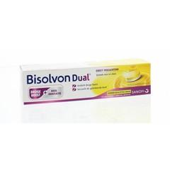 Bisolvon Dual droge hoest/keelirritatie (18 tabletten)