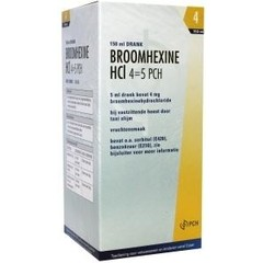 Teva Broomhexine HCL 4mg/ml = 0.8 mg (150 ml)