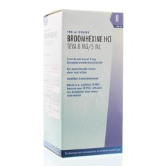 Teva Broomhexine Hcl 8 mg/5 ml (150 ml)
