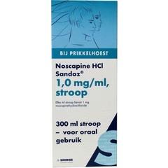 Sandoz Noscapine siroop HCL (300 ml)