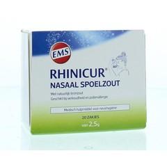Rhinicur Neus spoelzout 2.5 gram (20 stuks)