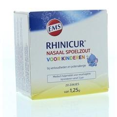 Rhinicur Neus spoelzout kind zakje (20 stuks)