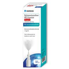 Sanias Xylometazoline HCI 1 mg spray (10 ml)
