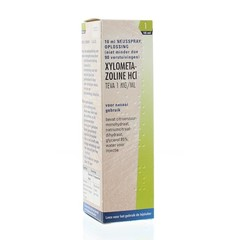Teva Xylometazoline 1 mg spray (10 ml)