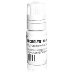 Lecrolyn Lecrolyn oogdruppels 40 mg/ml (10 ml)