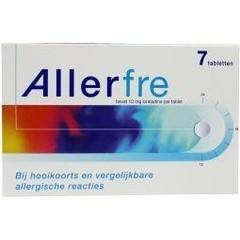 Allerfre Allerfre 10 mg (7 tabletten)