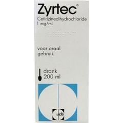 Zyrtec Zyrtec drank 1 mg/mg (200 ml)