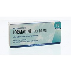 Teva Loratadine 10 mg (30 tabletten)