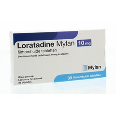 Mylan Loratadine 10 mg (30 tabletten)