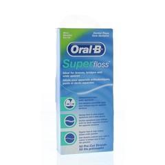 Oral B Floss super mint regular (50 stuks)