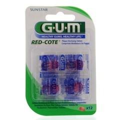 GUM Red cote plakverklikkers (12 stuks)